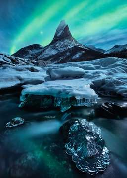 Stetind in Nord-Norwegen Puzzle;Erwachsenenpuzzle - Bild 2 - Ravensburger