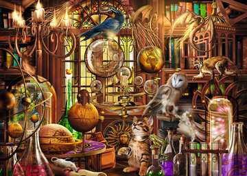 Merlín's Laboratory Jigsaw Puzzles;Adult Puzzles - image 2 - Ravensburger