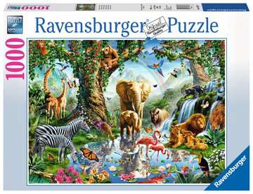 Adventures in the Jungle Jigsaw Puzzles;Adult Puzzles - image 1 - Ravensburger