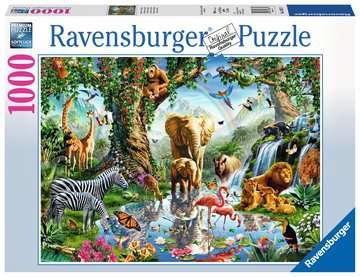 19837 Erwachsenenpuzzle Abenteuer im Dschungel von Ravensburger 1
