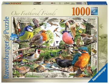 Our Feathered Friends, 1000pc Puzzles;Adult Puzzles - image 1 - Ravensburger