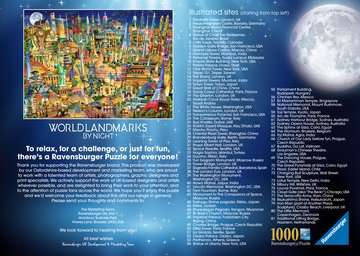 World Landmarks at Night Jigsaw Puzzles;Adult Puzzles - image 4 - Ravensburger
