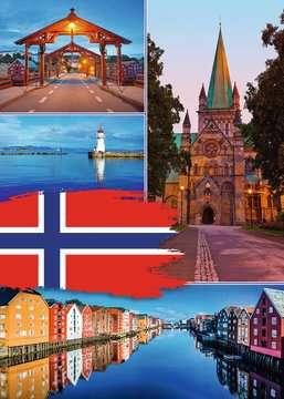 Trondheim Collage Puslespil;Puslespil for voksne - Billede 2 - Ravensburger