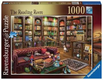 The Reading Room, 1000pc Puzzles;Adult Puzzles - image 1 - Ravensburger