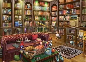 The Reading Room, 1000pc Puzzles;Adult Puzzles - image 2 - Ravensburger