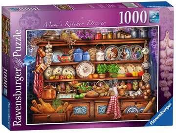 Mum s Kitchen Dresser, 1000pc Puzzles;Adult Puzzles - image 3 - Ravensburger