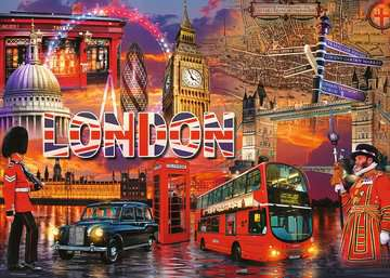 The Sights of London, 1000pc Puzzles;Adult Puzzles - image 2 - Ravensburger