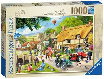 Leisure Days No.1 - Summer Village, 1000pc Puzzles;Adult Puzzles - image 1 - Ravensburger