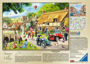 Leisure Days No.1 - Summer Village, 1000pc Puzzles;Adult Puzzles - image 2 - Ravensburger
