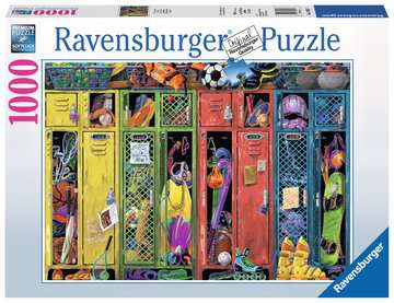 The Locker Room Jigsaw Puzzles;Adult Puzzles - image 1 - Ravensburger