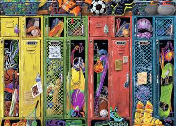 The Locker Room Jigsaw Puzzles;Adult Puzzles - image 2 - Ravensburger