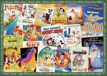 FILMOWE PLAKATY Disney a 1000EL Puzzle;Puzzle dla dorosłych - Zdjęcie 2 - Ravensburger