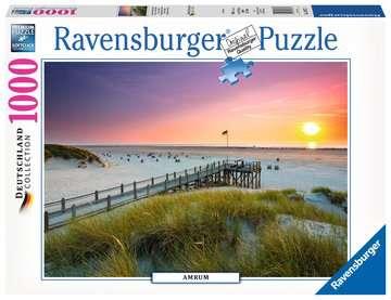 Sonnenuntergang über Amrum Puzzle;Erwachsenenpuzzle - Bild 1 - Ravensburger