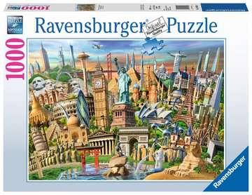 World Landmarks Jigsaw Puzzles;Adult Puzzles - image 1 - Ravensburger
