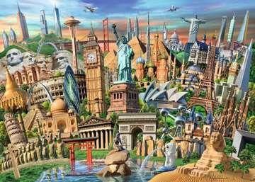 World Landmarks Jigsaw Puzzles;Adult Puzzles - image 2 - Ravensburger