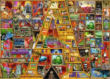 NIESAMOWITY ALFABET A 1000EL Puzzle;Puzzle dla dorosłych - Zdjęcie 2 - Ravensburger