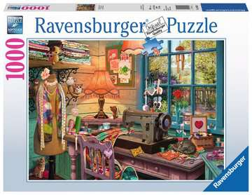 The Sewing Shed Jigsaw Puzzles;Adult Puzzles - image 1 - Ravensburger