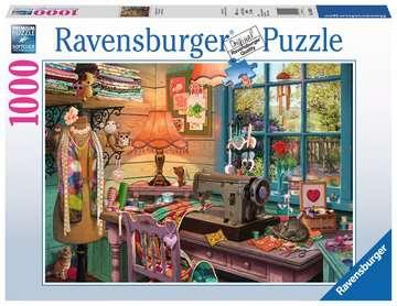 Koutek švadlenky 1000 dílků 2D Puzzle;Puzzle pro dospělé - obrázek 1 - Ravensburger