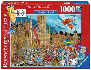 Fleroux - Brussel, cities of the world Puzzels;Puzzels voor volwassenen - image 1 - Ravensburger