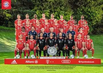 FC Bayern  17/18 J.H.     1000p Puzzle;Erwachsenenpuzzle - Bild 2 - Ravensburger