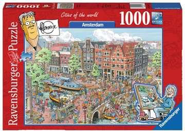 AMSTERDAM 1000EL Puzzle;Puzzle dla dorosłych - Zdjęcie 1 - Ravensburger