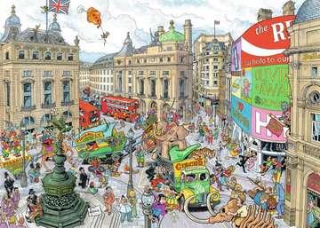 LONDYN 1000EL Puzzle;Puzzle dla dorosłych - Zdjęcie 2 - Ravensburger