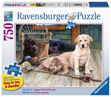 Ruff Day Jigsaw Puzzles;Adult Puzzles - image 1 - Ravensburger