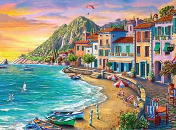 Romantic Sunset Jigsaw Puzzles;Adult Puzzles - image 2 - Ravensburger