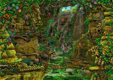 19951 Erwachsenenpuzzle EXIT Tempel in Angkor Wat von Ravensburger 2