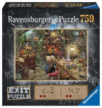 EXIT Hexenküche Puzzle;Erwachsenenpuzzle - Bild 1 - Ravensburger