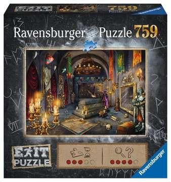 19955 Erwachsenenpuzzle EXIT  Im Vampirschloss von Ravensburger 1