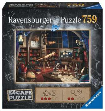 Escape Puzzle 759pc Space Observatory Puzzles;Adult Puzzles - image 1 - Ravensburger