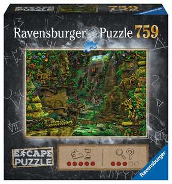 Escape Puzzle 759pc Temple Puzzles;Adult Puzzles - image 1 - Ravensburger