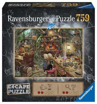 Escape Puzzle 759pc Witch s Kitchen Puzzles;Adult Puzzles - image 1 - Ravensburger