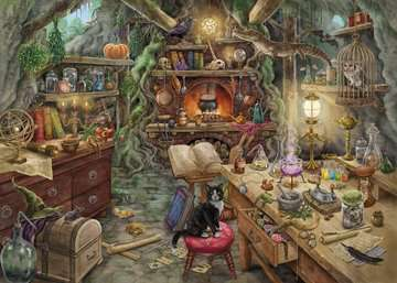 Witch s Kitchen Jigsaw Puzzles;Adult Puzzles - image 2 - Ravensburger