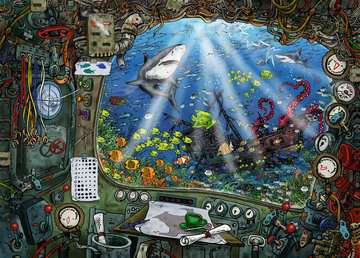 ESCAPE 4 Submarine Jigsaw Puzzles;Adult Puzzles - image 2 - Ravensburger