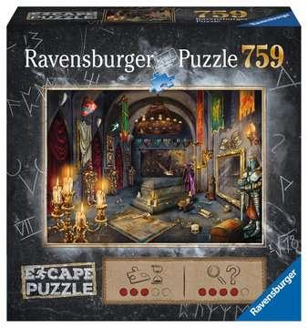 Castello del Vampiro Ravensburger Puzzle  759 pz - Escape the  Puzzle Puzzle;Puzzle da Adulti - immagine 1 - Ravensburger
