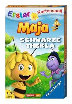 20328 Kartenspiele Biene Maja Schwarze Thekla von Ravensburger 1