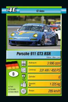 Motorsport Spiele;Kartenspiele - Bild 2 - Ravensburger