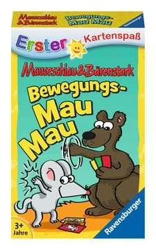 20347 Kartenspiele Mauseschlau&Bärenstark Bewegungs-Mau Mau von Ravensburger 1