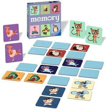 Wild World of Animals memory® Spil;Børnespil - Billede 2 - Ravensburger