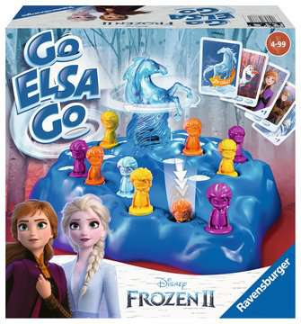 Disney Frozen 2 Go Elsa Go Games;Children s Games - image 1 - Ravensburger