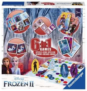Frozen 2, 6-in-1 Games Games;Children s Games - image 1 - Ravensburger