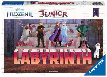 LABIRYNT JUNIOR - FROZEN 2 Gry;Gry dla dzieci - Zdjęcie 1 - Ravensburger