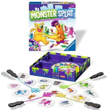 Monster Splat Games;Children s Games - image 2 - Ravensburger