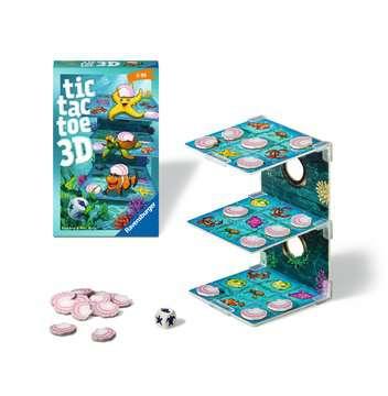 20544 Mitbringspiele Tic Tac Toe 3D von Ravensburger 2