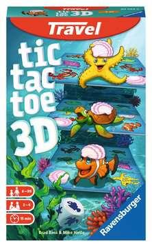 Tic Tac Toe 3D Giochi;Travel games - immagine 1 - Ravensburger