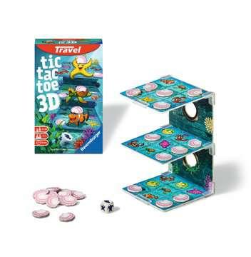 Tic Tac Toe 3D Giochi;Travel games - immagine 2 - Ravensburger