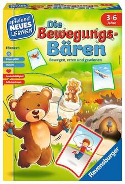 20568 Lernspiele Die Bewegungs-Bären von Ravensburger 1