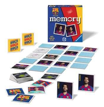 memory® FC Barcelona Giochi;Giochi educativi - immagine 2 - Ravensburger